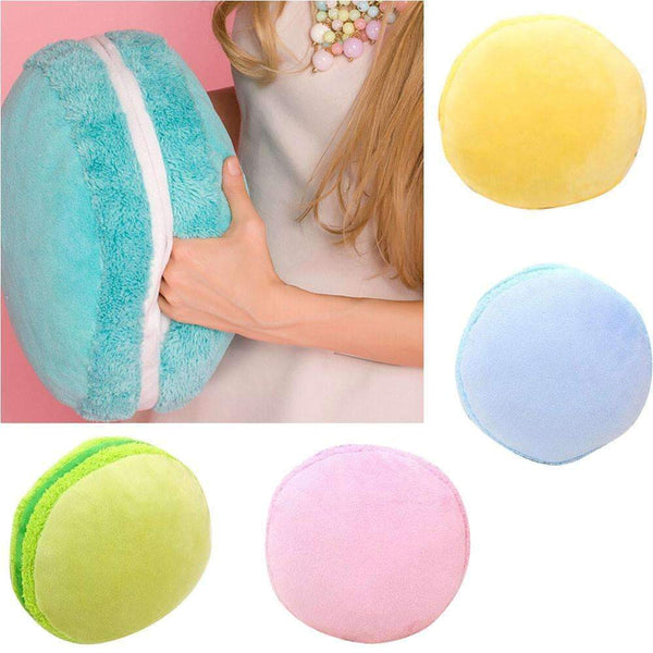 PinKart-USA Online Shopping Green Throw Macarons Lovely Pillow Cushion Household Sofa Bed Room Plush Naps Toy Gift For Boys