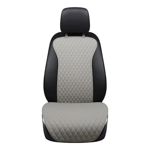 PINkart-USA Online Shopping grey front 1pcs / China Brand New Arrivial Not Moves Car Seat Cushions, Universal Pu Leather Non Slide Seats Cover Fits For