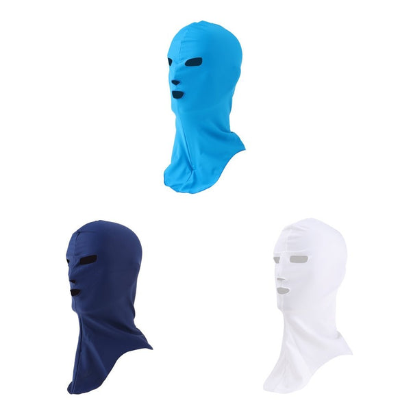 PINkart-USA Online Shopping High Elastic Water Sport Snorkeling Swimming Cap Sunblock Uv Protection Full Face Mask Head Neck