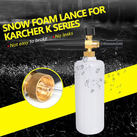 PINkart-USA Online Shopping High Pressure Snow Foam Lance For Karcher K Series Soap Foamer Adjustable Foam Nozzle