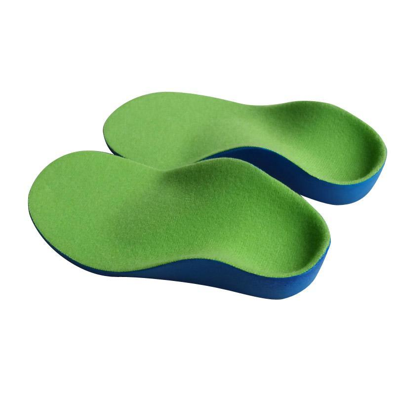 PINkart-USA Online Shopping High Quality Kids Pu Orthopedic Insoles For Children Shoes Flat Foot Arch Support Orthotic Pads