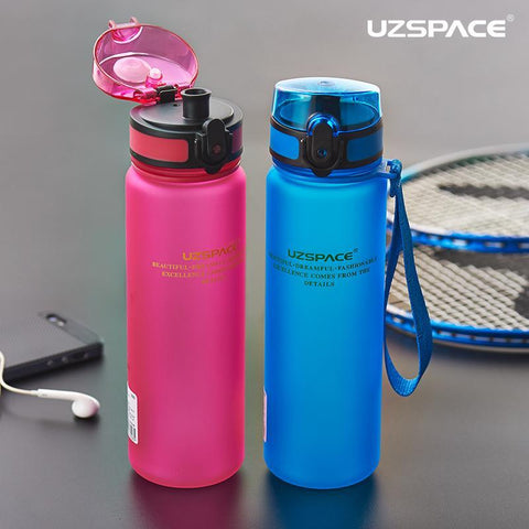 PINkart-USA Online Shopping Hot Sale Uzspace Protein Shaker Portable Motion My Tritan Water Bottle Bpa Free Plastic For