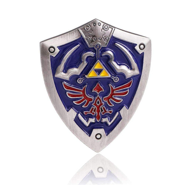 PinKart-USA Online Shopping Hsic Jewelry Game The Legend Of Zelda Shield Brooches High Quality Enamelled Alloy Brooches Female