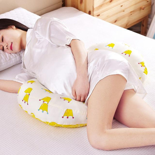 PINkart-USA Online Shopping huangguan Keep Side Sleepers For Pregnant Quality Body Pillow Comfortable Maternity Breastfeeding Pillows