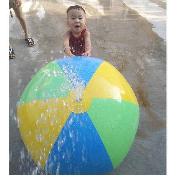 PINkart-USA Online Shopping Inflatable Spray Water Ball Children Summer Outdoor Swimming Beach Pool Play Lawn Ball Polo