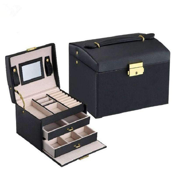 PinKart-USA Online Shopping Jewelry Packaging Box Casket Box For Jewelry Exquisite Makeup Case Jewelry Organizer Container Boxe