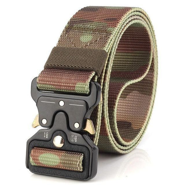 PINkart-USA Online Shopping Jungle Camo / 125cm Ping Mens Tactical Belt Military Nylon Belt Outdoor Multifunctional Training Belt Combat Belts
