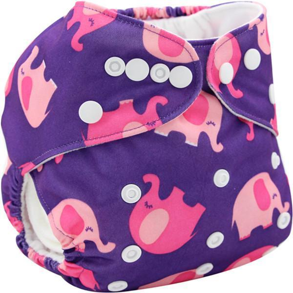 PinKart-USA Online Shopping K33 Ohbabyka Baby Cloth Diaper Adjustable Diaper Covers Washable Reusable Baby Nappies Couche