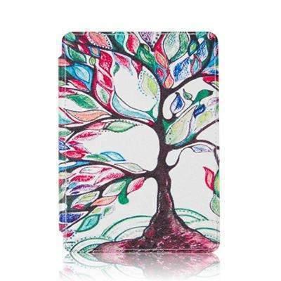PinKart-USA Online Shopping K4 SY HLS Folio Pu Leather Case For Amazon Kindle Basic 4/5 Fro Kindle 4/5 Case Generation Magnet Cover+Scree