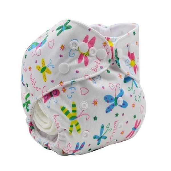 PinKart-USA Online Shopping K51 Ohbabyka Baby Cloth Diaper Adjustable Diaper Covers Washable Reusable Baby Nappies Couche