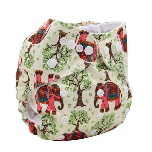PinKart-USA Online Shopping K71 Ohbabyka Baby Cloth Diaper Adjustable Diaper Covers Washable Reusable Baby Nappies Couche