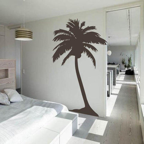 PinKart-USA Online Shopping Large Palm Tree Wall Sticker , Living Room Tropical Wall Art House Decoration Tall