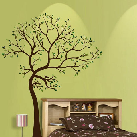 "PinKart-USA Online Shopping Large Size 72""X55""(180Cm X 140Cm) Vinyl Big Tree Wall Stickers With Light"