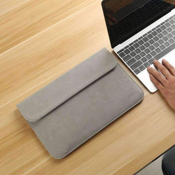 PinKart-USA Online Shopping Light Gray / for Xiaomi Air 12 Laptop Case Sleeve For Xiaomi Air 12 13 Inch Matte Leather Case For Xiaomi Mi Notebook Air