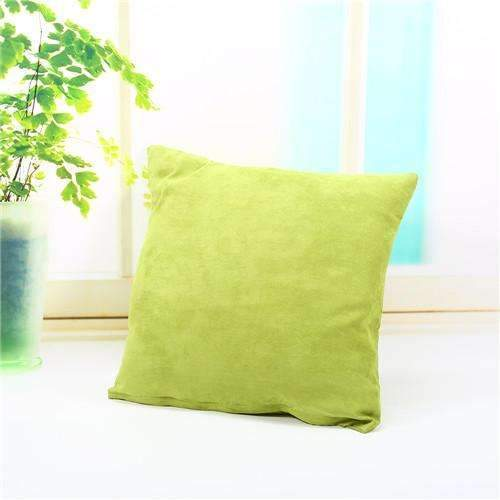 PinKart-USA Online Shopping light green Pillow Case Solid Suede Nap Cushion Decorative Pillowcase Valentine'S Day Gift Body Pillow Cases