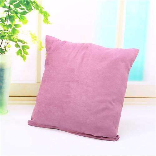 PinKart-USA Online Shopping lightt purple Pillow Case Solid Suede Nap Cushion Decorative Pillowcase Valentine'S Day Gift Body Pillow Cases