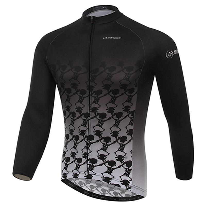 PINkart-USA Online Shopping Long Sleeve Cycling Bike Jersey Jacket/Shirt Winter Sport Bicycle Cycling Clothing Ropa Invierno