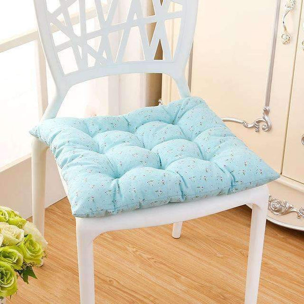 PinKart-USA Online Shopping lv se xiao hua / 40x40cm 40*40Cm Cheap Soft Home Office Linen Outdoor Square Cotton Seat Pad Thicken Cushion Buttocks Chair