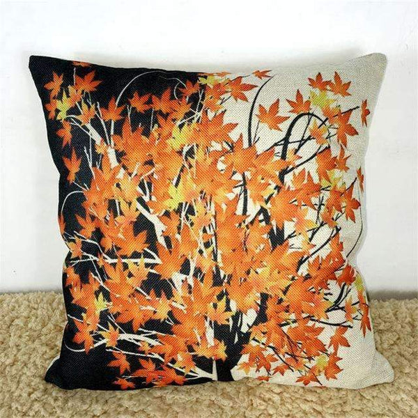 PinKart-USA Online Shopping Many Cushion Maple Leaf Canadian Style Cotton Linen Pillow Cushion Sofa Bedroom Home Decorative Throw