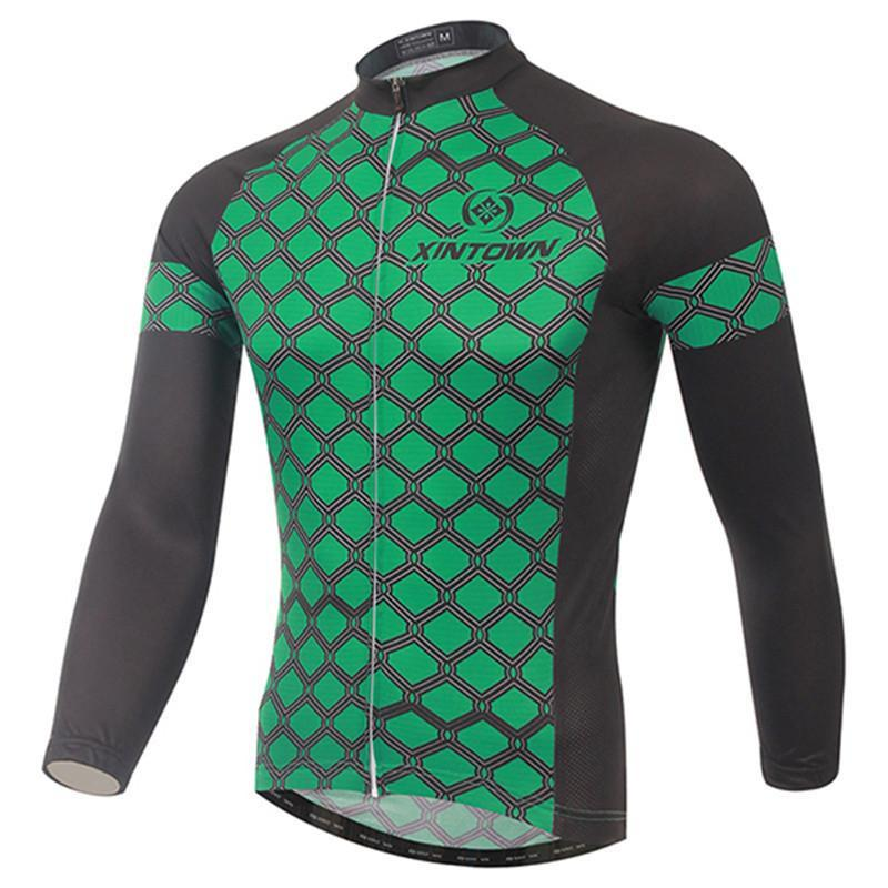 PINkart-USA Online Shopping Men Cycling Jersey Winter Long Sleeve Cycling Clothing Ropa Invierno Ciclismo Mountain Bike