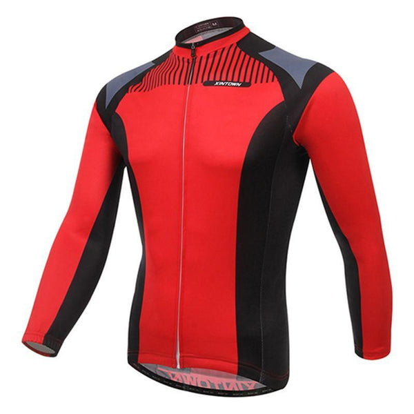 PINkart-USA Online Shopping Men'S Cycling Jersey Tops Winter Long Sleeve Cycling Clothing Ropa Invierno Ciclismo Sports