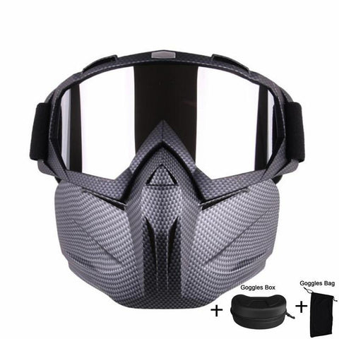 PINkart-USA Online Shopping Men Women Windproof Snowboard Goggles Ski Glasses Motocross Glass Skiing Goggles Face Mask