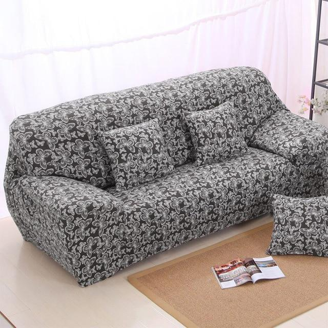 Modern Sofa Cover All-Inclusive Slip-Resistant Cheap Sofa Towel Elastic  Corner Sofa Sectional