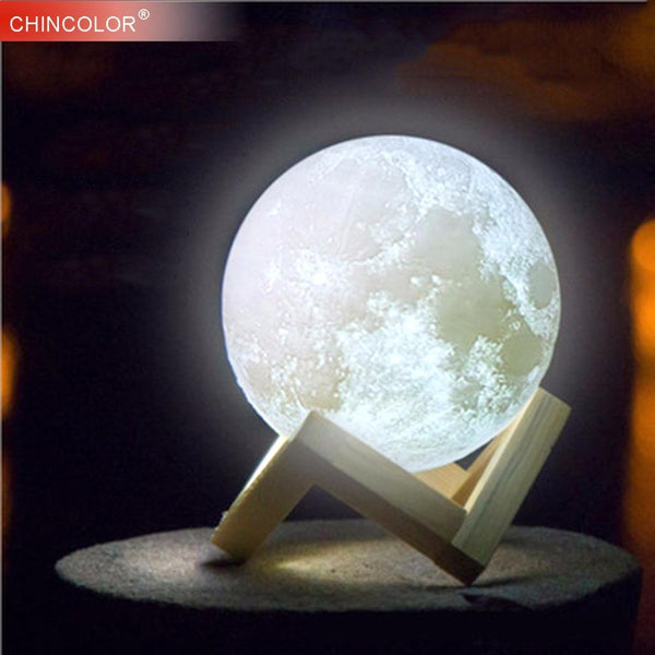 PINkart-USA Online Shopping Moon Lamp 3D Printing Led Night Light Novelty Light Lunar Usb Powered Touch Control 8-20Cm Ball