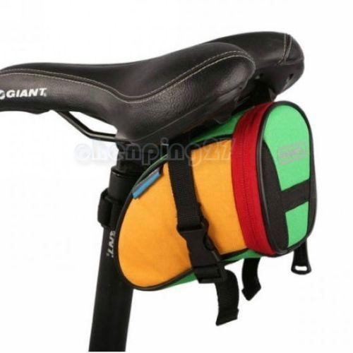 PINkart-USA Online Shopping Multi Cycling Bike Bicycle Rear Seat Saddle 1L Tail 600D Bag Quick Release 8 Colors Available Free