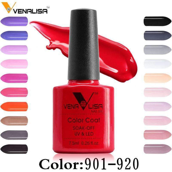 PinKart-USA Online Shopping Nail Art Design Manicure Canni 60 Color 7.5Ml Soak Off Enamel Gel Polish