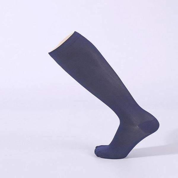 PINkart-USA Online Shopping Navy Blue / S Hot Unisex Compression Stockings Pressure Nylon Varicose Vein Stocking Knee High Leg Support