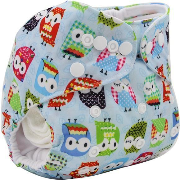 PinKart-USA Online Shopping OB026 Ohbabyka Baby Cloth Diaper Adjustable Diaper Covers Washable Reusable Baby Nappies Couche