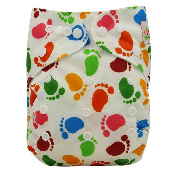 PinKart-USA Online Shopping OB125 Ohbabyka Baby Cloth Diaper Adjustable Diaper Covers Washable Reusable Baby Nappies Couche
