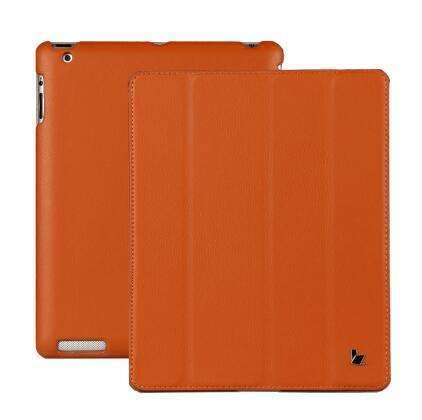 PinKart-USA Online Shopping Orange / China Jisoncase Smart Case For Ipad 4 3 2 Cover Stand Tablet Designer Ultra Thin Leather Covers & Cases