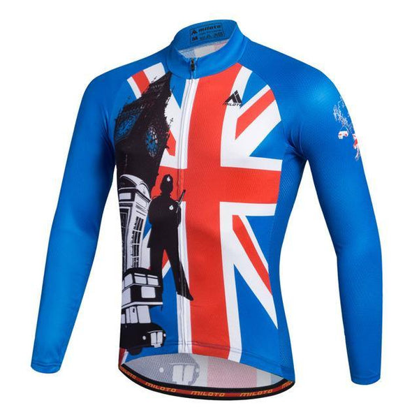 Breathable Pro Racing Cycling Jersey Roupa De Ciclismo Winter Long Sleeve Bicycle Cycling