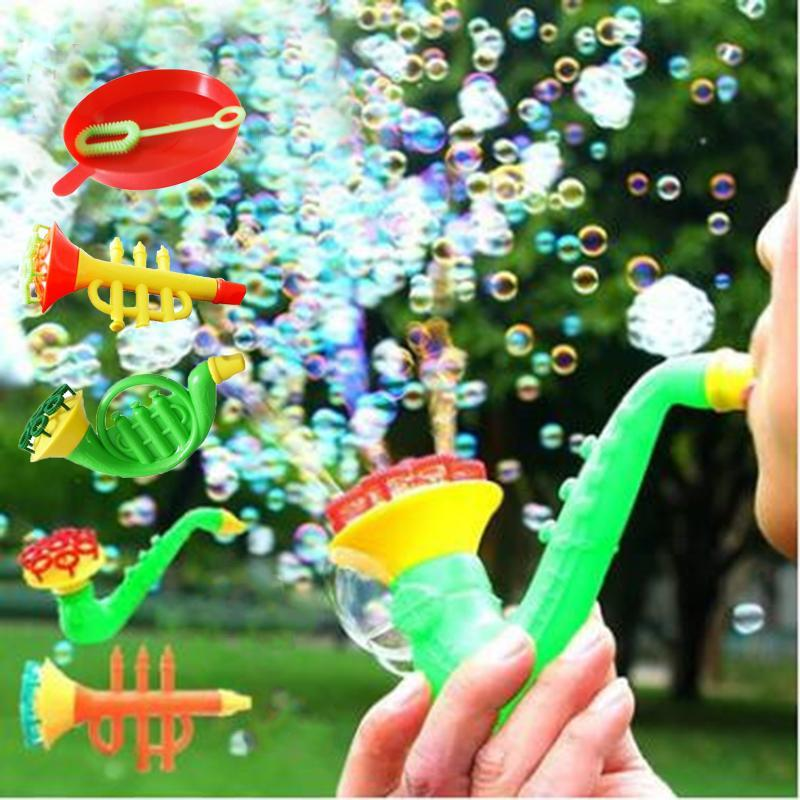 PINkart-USA Online Shopping Outdoor Funny Kids Beach Toys Water Blowing Toy Bubble Gun Soap Bubble Blower Baby Bath Toys