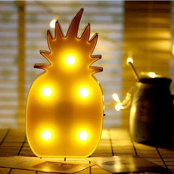 PinKart-USA Online Shopping pineapple Tronzo Flamingo Led Light Christmas Wedding Decoration For Home Marquee Unicorn Head Pineaapple