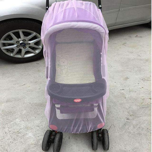 PinKart-USA Online Shopping Pink Baby Stroller Pushchair Mosquito Insect Shield Net Safe Infants Protection Mesh Stroller Accessorie