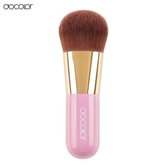 PinKart-USA Online Shopping Pink Best Foundation Brush Pink And Green Makeup Brush With Box Fast Make Up Brushes Beauty Essential