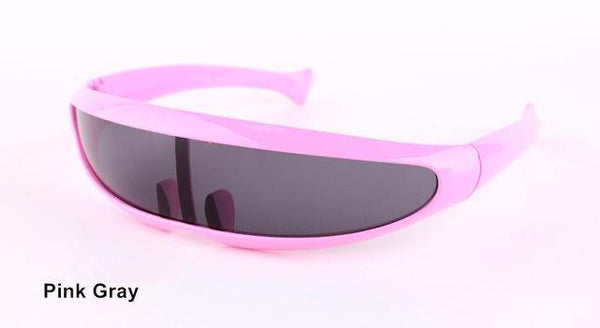 PINkart-USA Online Shopping Pink Gray Xmen Men Women Sunglasses X-Men Personality Laser Glasses Cool Robots Sun Glasses Driving