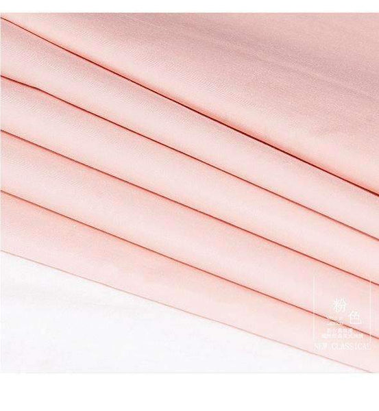 PinKart-USA Online Shopping pink / King Chausub Quality Solid Color Flat Sheet 1Pc Satin Bed Sheets Cotton Bedding Bed Cover King Queen Siz