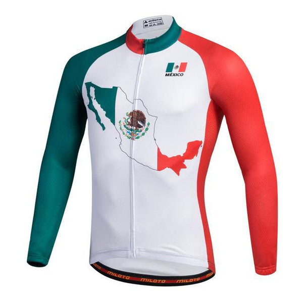 PINkart-USA Online Shopping Pink / L Breathable Pro Racing Cycling Jersey Roupa De Ciclismo Winter Long Sleeve Bicycle Cycling