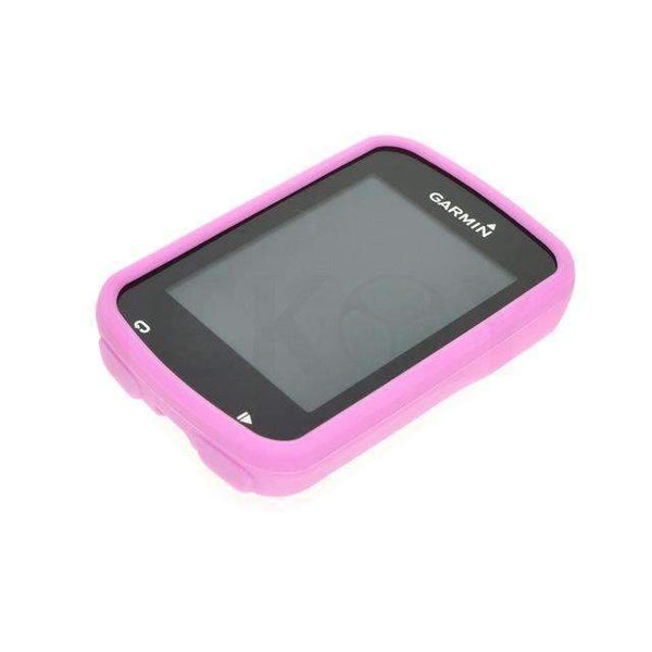 PinKart-USA Online Shopping Pink Outdoor Cycling Road/Mountain Bike Computer Accessories Rubber Protect Black Case For Gps Garmin Gp