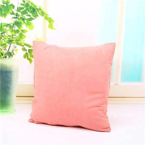PinKart-USA Online Shopping pink Pillow Case Solid Suede Nap Cushion Decorative Pillowcase Valentine'S Day Gift Body Pillow Cases