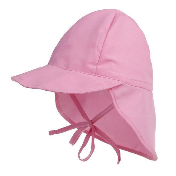 PINkart-USA Online Shopping pink Summer Baby Hat Sun Protection Swimming Cap Outdoor Uv Protection Sun Beach Hats Boys Girls