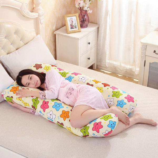 PINkart-USA Online Shopping Pregnancy Pillows U Shape Maternity Maternity Belt Body Character Pregnant Pillow Cartoon Pregnant