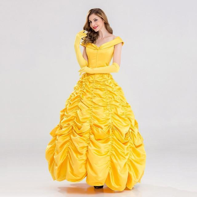 ... PINkart-USA Online Shopping Princess Belle Dress   S   Beauty and the Beast  Princess ... 58adf9cc69e2