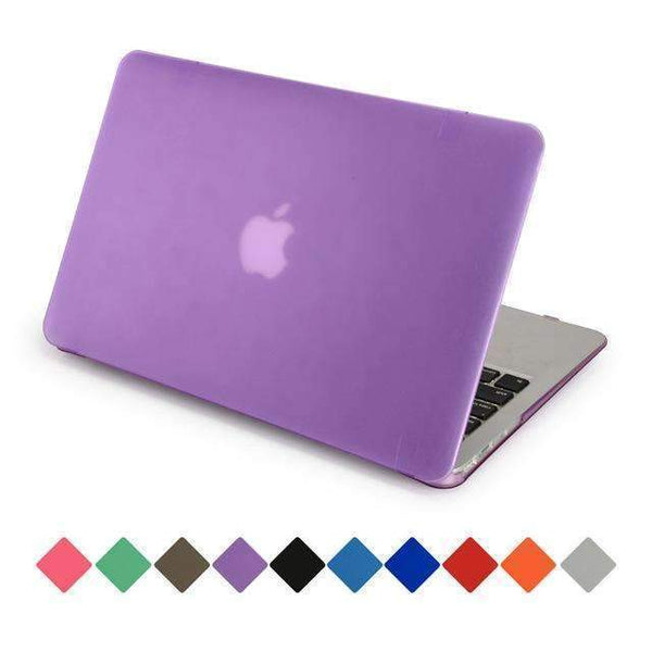 PinKart-USA Online Shopping Purple / 12 inch retina For Apple Macbook Air 13 Case Matte Transparent Air Pro Retina 11 12 13 15 Protective Cover+