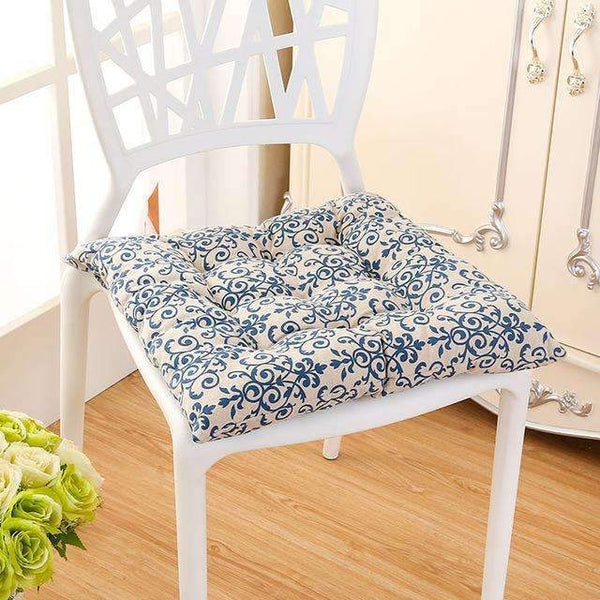 PinKart-USA Online Shopping qing hua ci / 40x40cm 40*40Cm Cheap Soft Home Office Linen Outdoor Square Cotton Seat Pad Thicken Cushion Buttocks Chair