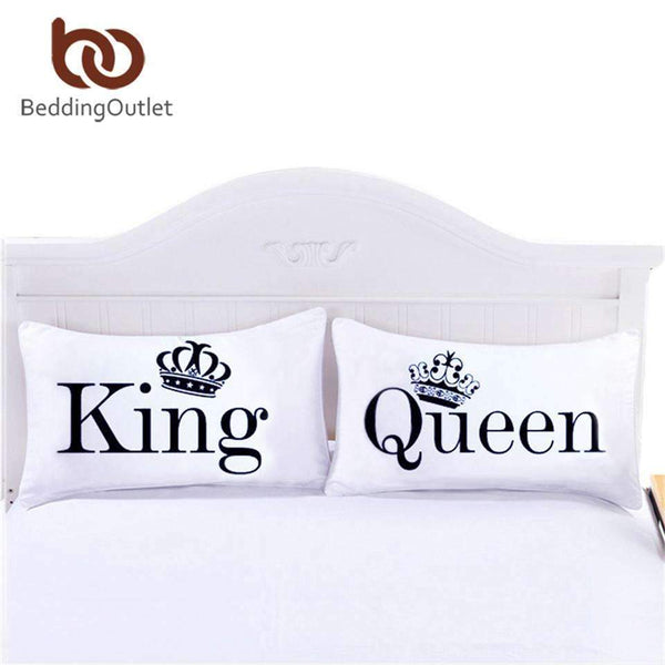PinKart-USA Online Shopping Queen King Pillowcase Decorative Body Pillow Case Plain Design Qualified Bedclothes